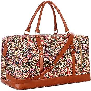 Flower Power Weekender//Overnighter Bag