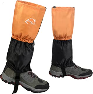 Unisex Waterproof Snowproof Outdoor Hiking Walking Gaiters Climbing Hunting Snow Legging Leg Cover Wraps
