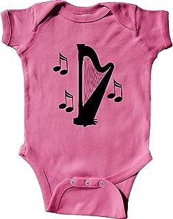 inktastic Harp Silhouette Music Gift Infant Creeper