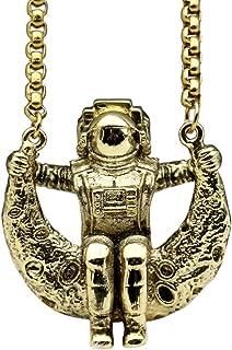 Best gold astronaut pendant Reviews