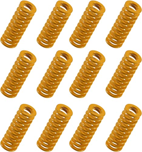Aokin 3D Printer Heat Bed Springs, 0.3in OD 0.78in Length Compression Springs Die Springs Light Load for 3D Printer C...