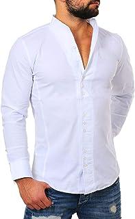 super popular 5d964 f7cf5 Suchergebnis auf Amazon.de für: hemd ohne kragen: Bekleidung