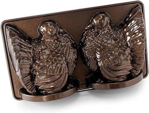 popular Nordic lowest Ware Classic Turkey 3D Pan, discount Bronze, Brown outlet online sale