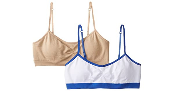 Pack of 2 Hanes Girls Bras 7-16 Bras H189 Hanes Girls Big Seamless Foam Bra