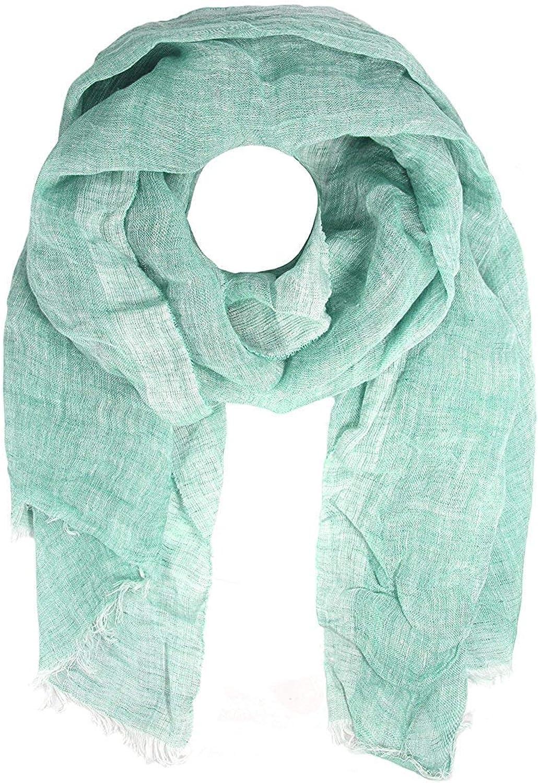 Bloomingdale's MA.AL.BI. Women's LinoFlax Loose Weave Scarf, Green