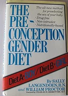 Best preconception gender diet Reviews