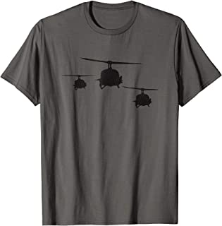 huey helicopter t shirt
