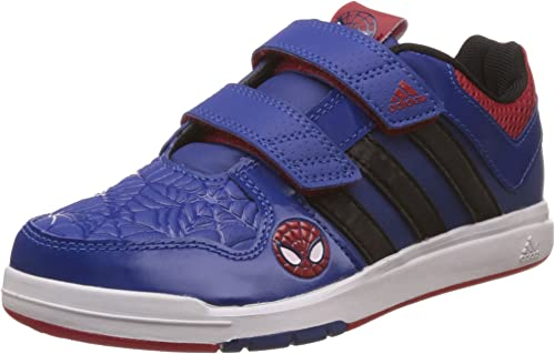 adidas Baskets Enfant LK Spiderman pour garçon en Bleu Roi ...
