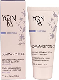 YON-KA ESSENTIALS - GOMMAGE 305 Exfoliant and Clarifiant - Delicate Exfoliation and Balancing Action for Dry and Sensitive Skin (1.8 Ounces / 50 Milliliters)