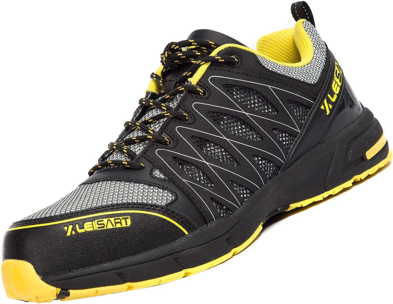 全店販売中 Leisart Steel Toe Work Safety Lightweight In Shoes Men 本日限定 for