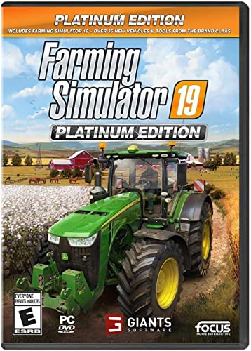 Farming Simulator 19 Platinum Edition (PC) - PC