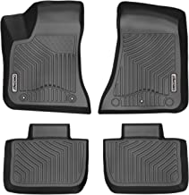 Coverking Custom Fit Front Floor Mats for Select Chrysler Concorde Models Nylon Carpet Black