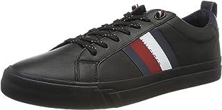 Tommy Hilfiger Flag Detail Leather Men Sneakers