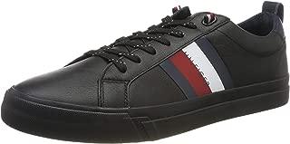 Tommy Hilfiger Flag Detail Leather Sneaker Moda Ayakkabılar Erkek