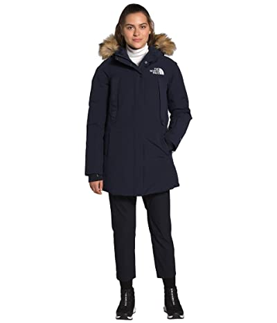 The North Face New Outerboroughs Parka (Aviator Navy) Women
