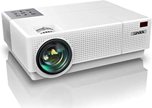 YABER Y31 Native 1920x 1080P Projector 7200 Lux Upgrade Full HD Video Projector, ±50° 4D Keystone Correction Support 4K, L...