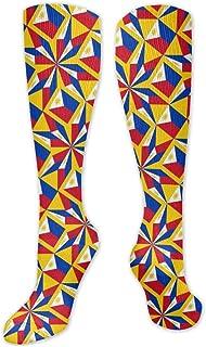 MISS-YAN, – Calcetines para hombre y mujer, diseño de la bandera de Filipinas