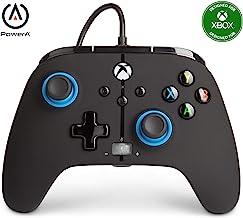 PowerA Controller giochi cablato avanzato per Xbox, gamepad, Xbox Series X|S, Blu(Note)