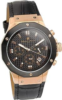 [サルバトーレマーラ] 腕時計 ウォッチ クロノグラフ 10気圧防水 ビジネス フォーマル メンズ