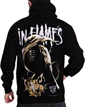 Stand-Zone In flames Sounds of a Playground Fading Black T Shirt,Sleeveless,Hoodie (Hoodie Medium Chest 19