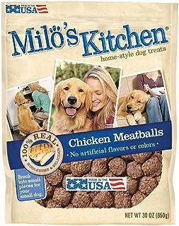 Milo's Kitchen Chicken Meatballs Dog Treats in 30 oz.