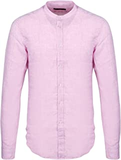 BRIAN DALES Luxury Fashion Mens ST8066BS340W3 Pink Shirt | Spring Summer 20