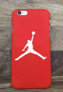 Toxdi Air Man Logo iPhone 7/8 Plus Funda, Carcasa Silicona Protector Anti-Choque Ultra-Delgado Anti-arañazos Case Caso para Teléfono iPhone 7/8 Plus (Rojo)