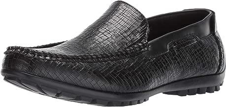 STACY ADAMS Men's Kian Moc Toe Slip on Driver Loafer Driving Style