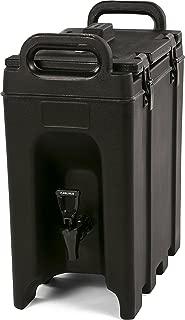 Carlisle LD250N03 Cateraide Insulated Beverage Server/Dispenser, 2.5 Gallon, Black