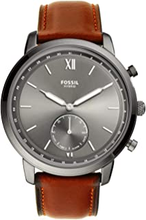 Men's Neutra Stainless Steel Hybrid Smartwatch with Activity Tracking and Smartphone Notifications