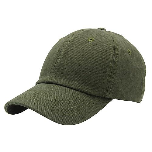 Top Level Baseball Cap for Men Women - Classic Cotton Dad Hat Plain Cap Low  Profile c5aa06466c7