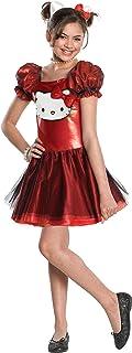 Hello Kitty Sequin Hello Kitty Dress Child Costume - Medium