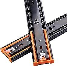 YPHD Soft Close Ladeglijbanen, 43 mm breed, 3-voudig volledig verlengbaar metalen stalen ladekager, 45 Kg draagvermogen 1 ...