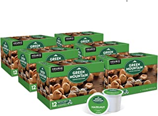 Green Mountain Coffee Roasters Hazelnut, Single-Serve Keurig K-Cup Pods, Flavored Light Roast Coffee, 72 Count