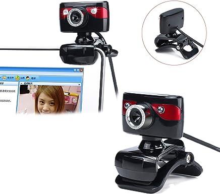 SSCJ HD Webcam 480P Webcam con Microfono Integrato per la riduzione del Rumore per Laptop e Desktop Plug-in per Fotocamera USB per Computer e Riproduzione di videochiamate - Trova i prezzi più bassi