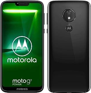 "Motorola Moto G7 Power, Smartphone Android 9.0, Display 6,2"", Camera da 12Mp, 4/64 GB, Dual Sim, Nero (Ceramic Black)"