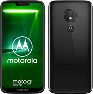 Motorola Moto G7 Power XT1955 64GB Dual-SIM Factory Unlocked 4G/LTE Smartphone - International Version (Ceramic Black)