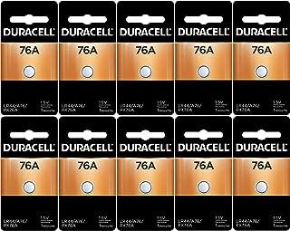 Duracell LR44 Duralock 1.5V Button Cell Battery, (10 Count)