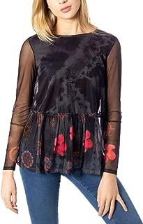 Luxury Fashion | Desigual Womens 19WWTKZ4BLACK Black Blouse | Autumn-Winter 19
