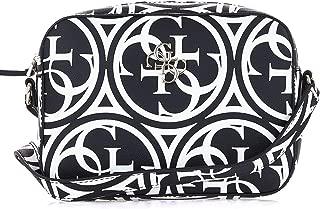 Luxury Fashion | Guess Womens HWHG6691120BLACK Black Shoulder Bag | Fall Winter 19