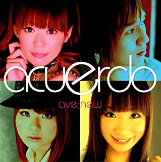 ave;new 6th single 「acuerdo~アクエルド~」