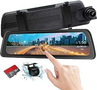 Mirror Dash Cam Backup Camera 9.88