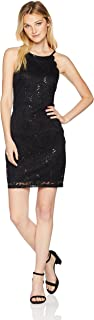 Women's Lace Fit and Flare Dress (Junior's)