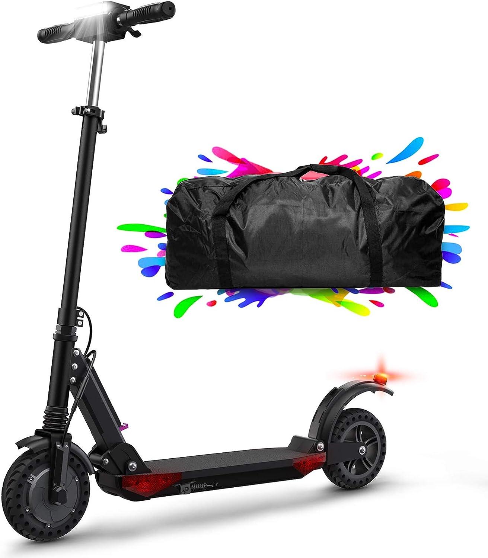 Patinete Eléctrico Scooter Plegable, 30 Km Alcance, Manillar Ajustable Scooter Electrico para Adultos Unisex y Adolescentes