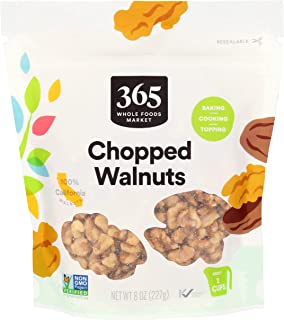 365 by Whole Foods Market, Walnuts Chopped, 8 Ounce