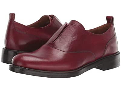 Frye Annie Oxford (Red Antique Smooth Polished) Women