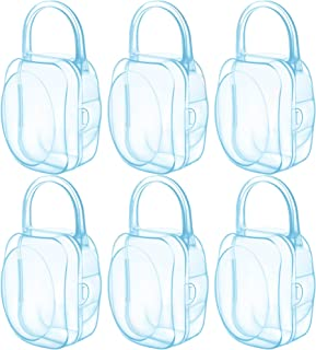 LANEYLI Pacifier Case Pacifier Holder Binky Holder Case Pacifier Box for Diaper Bag Home Travel Outdoor Activities 6 Pack ...