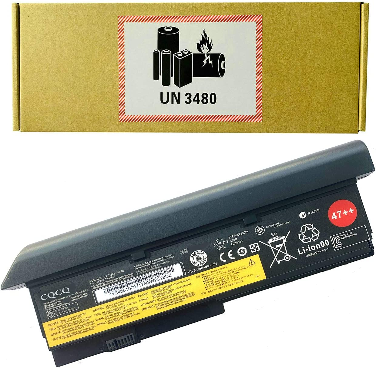 CQCQ Compatible Super sale period limited 47++ Battery Replacement ThinkPad Lenovo Seattle Mall for IBM