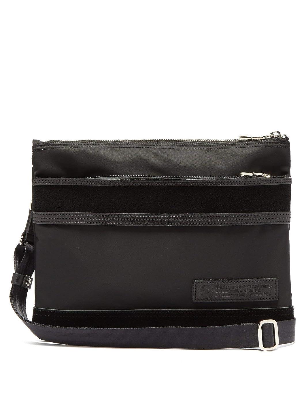 振幅ウナギ頭痛(マスターピース) MASTER-PIECE 密度スエードパネルクロスボディバッグ Density cross-body bag メンズ (並行輸入品)