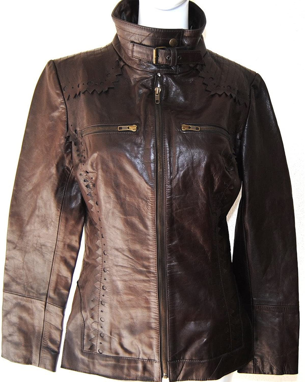 Fadcloset Raquel Womens Leather Jacket